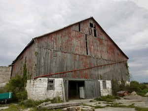 Looking to buy old wooden barns in ontario. Top dollar paid