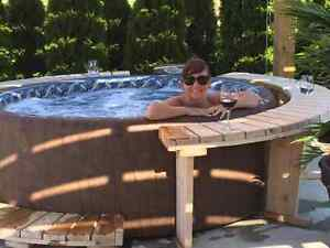 Worlds Most Efficient Softub Hot Tub as Low as $3200.00 Windsor Region Ontario image 1