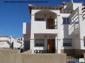 Costa Blanca, 2 bed, South facing, 1st floor apt, Feb-April £125 pw (SM072