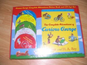 Curious George Complete Book and CD Set