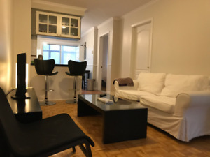 3BR FURNISED Apt,McGILL GHETTO(students welcome WIFI INCLUDED)