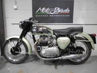 "BSA A7 ""SHOOTING STAR"" 500cc Mt Green ,1958 model Fully Restored"