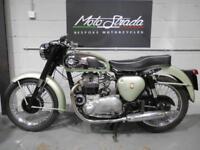 "BSA A7 ""SHOOTING STAR"" 500cc Mt Green ,1958 model Fully Restored"