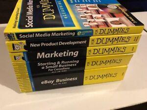Marketing for dummies books collection