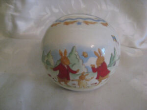 Royal Doulton Bunnykins Shining Star Money Ball Bank