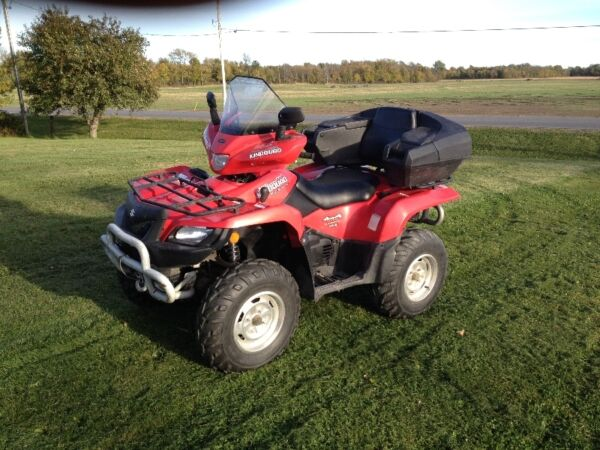 Used 2005 Suzuki kingquad 700 irs