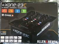 Allen & Heath XONE 23C Two Channel DJ mixer & Soundcard