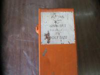 ALCMA SHIM KIT UP TO 1 1/8 BOLT / SAVE HUNDREDS