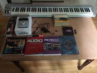 Pro Tools/Focusrite Forte/KeyStation 88 M audio/Livres Audio