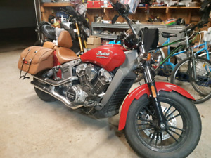 Selling my red 2015 Indian scout (1200cc) for $12000