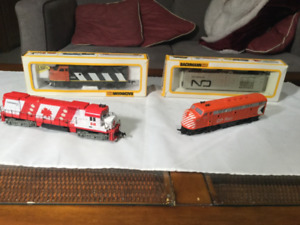 3 Model Railroad Locomotives **Sold pending Pickup**