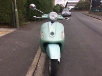 PIAGGIO VESPA GT 125cc green 2003 low mileage!!