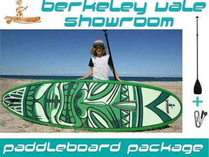 """Stand up Paddle board Package EPOXY """"Cheeky Tiki"""" FUNKY SUP"""