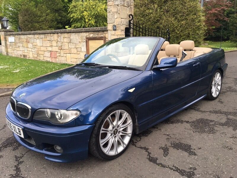 2005 bmw 320 ci convertible m sport e46 px welcome in corstorphine edinburgh gumtree. Black Bedroom Furniture Sets. Home Design Ideas