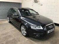 Audi A6 Avant 2.0 Tdi Quattro S line Special Edition Auto 1 Owner , Leather, Sat Nav Warranty