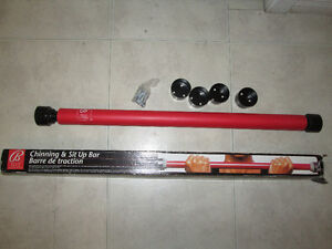 New, BALLY TOTAL FITNESS Chinning and Sit Up Bar Kingston Kingston Area image 1