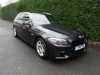 BMW 520 2.0TD Touring, Diesel, M Sport, 2011, Grey, Manual.Sat Nav,