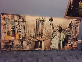 Statue of Liberty New York large canvas wall art