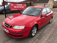 2005 SAAB 9-3 1.9 TID DIESEL, 1 YEAR MOT, SERVICE HISTORY, WARRANTY, NOT VECTRA FOCUS MONDEO 307