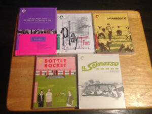 Criterion Collection Blu Rays