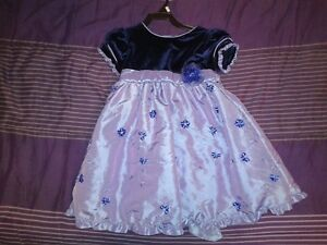 Size 2 - Purple satin dress