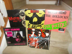 "ASSORTED PUNK VINYL RECORDS "" SEALED"""