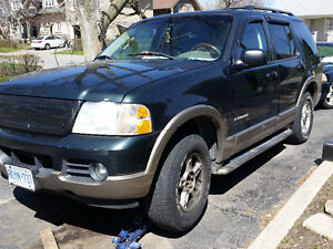 ► 2002 Ford Explorer Eddie Bauer Leather V8 SCRAP / PARTS CAR /