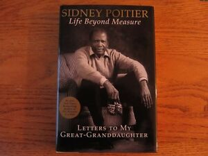 """Life Beyond Measure"" by Sidney Poitier - Brand New! Great Gift!"