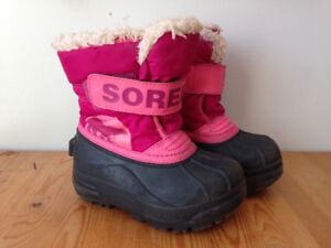 Sorel winter boots, toddler 8