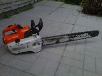 STIHL 08S PROFESSIONAL CHAINSAW