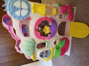 Disney Princess Play n Carry Castle - $15