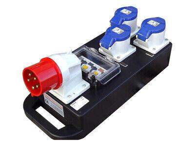 New Rubber Box Co European 32a Power Distro Electrical Distribution