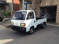 1992 Honda Acty right hand drive 4WD 5 speed