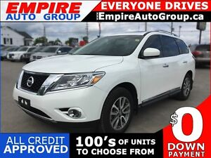 2014 NISSAN PATHFINDER SL * 4WD * LEATHER * SUNROOF * REAR CAM *