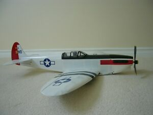 RC Spitfire airplane
