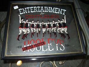 Hooleys Entertainment For Gentlemen sign
