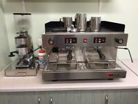 Wega 2 group coffee machine.
