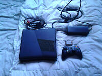 XBOX 360 BLACK with 172GB Free Space And 24 Games