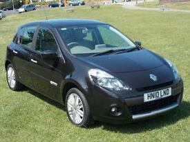 2010 (10) Renault Clio 1.5dCi ( 106bhp ) Initiale TomTom