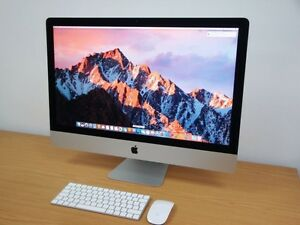 "Like new late 2013 iMac 27""+extras"