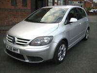 "2006/56 Volkswagen Golf Plus 1.9TDI PD 105ps DSG SE in Met Silver "" ONLY £2495 """