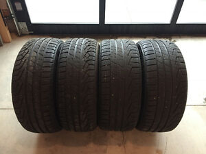 BMW X3 tires 235/45R19Front 255/40R19Rear Pirelli Sotto M+S