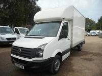 2011 VOLKSWAGEN CRAFTER CR35 2.0 TDI LUTON TAIL LIFT CHOICE OF 3 FROM £10995 + V