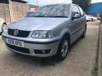 Volkswagen Polo E 3dr PETROL MANUAL 2001/X
