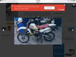 Yz 80 for project for sail or swap for your. go cart