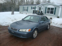 MUST SELL!!   2001 TOYOTA CAMRY XLE SEDAN