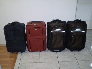 Carry On Luggage . Different Sizes. Price is for each one OBO.