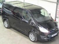 Ford Transit Custom Sport 2.2TDCI 155ps L1H1 in Black nearly NEW UK Model