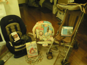 NEW AND GENTLY USED BABY ITEMS