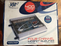 VR 3 Four Chanel MOSFET amplifier new